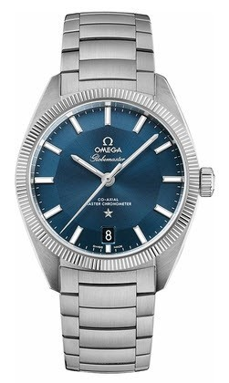 Omega Constellation Globemaster Co Axial Master Chronometer 39mm Automatic in Steel