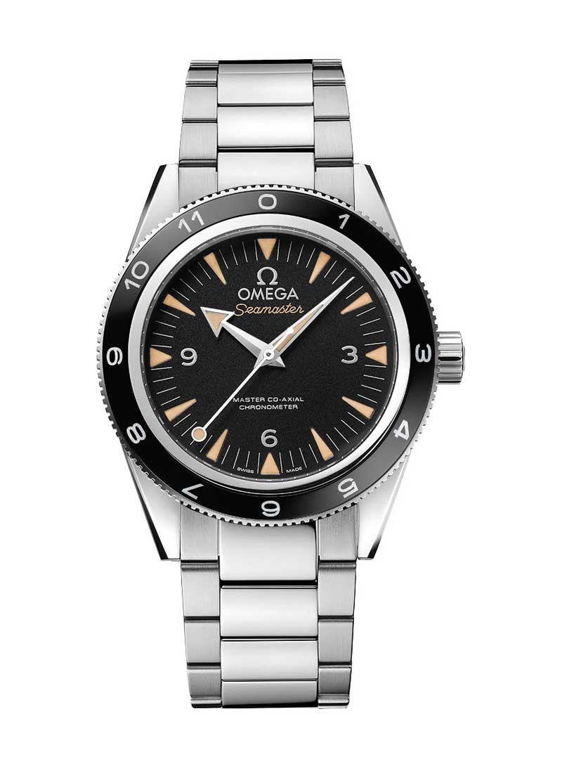 Omega Seamaster Spectre Mens 41mm Automatic in Steel