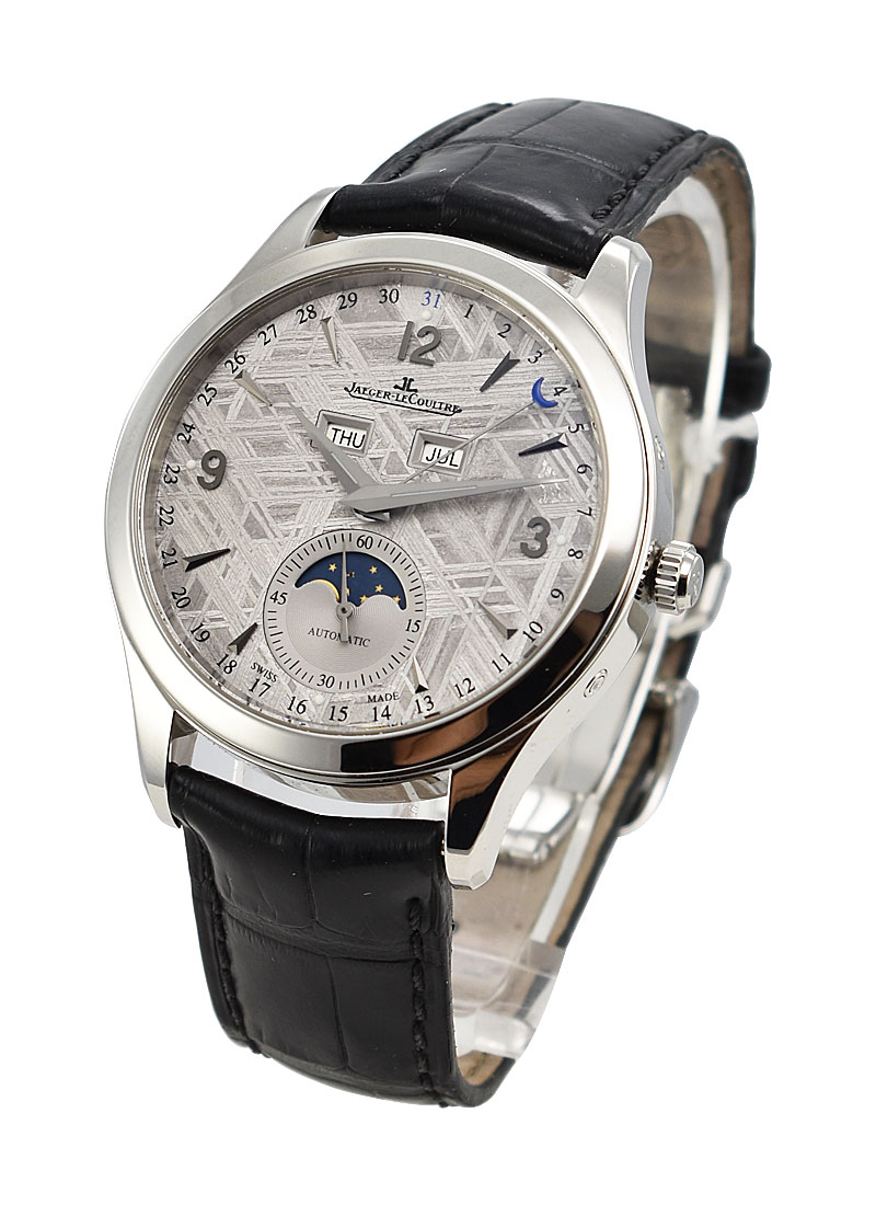 Jaeger - LeCoultre Master Series Calendar in Steel