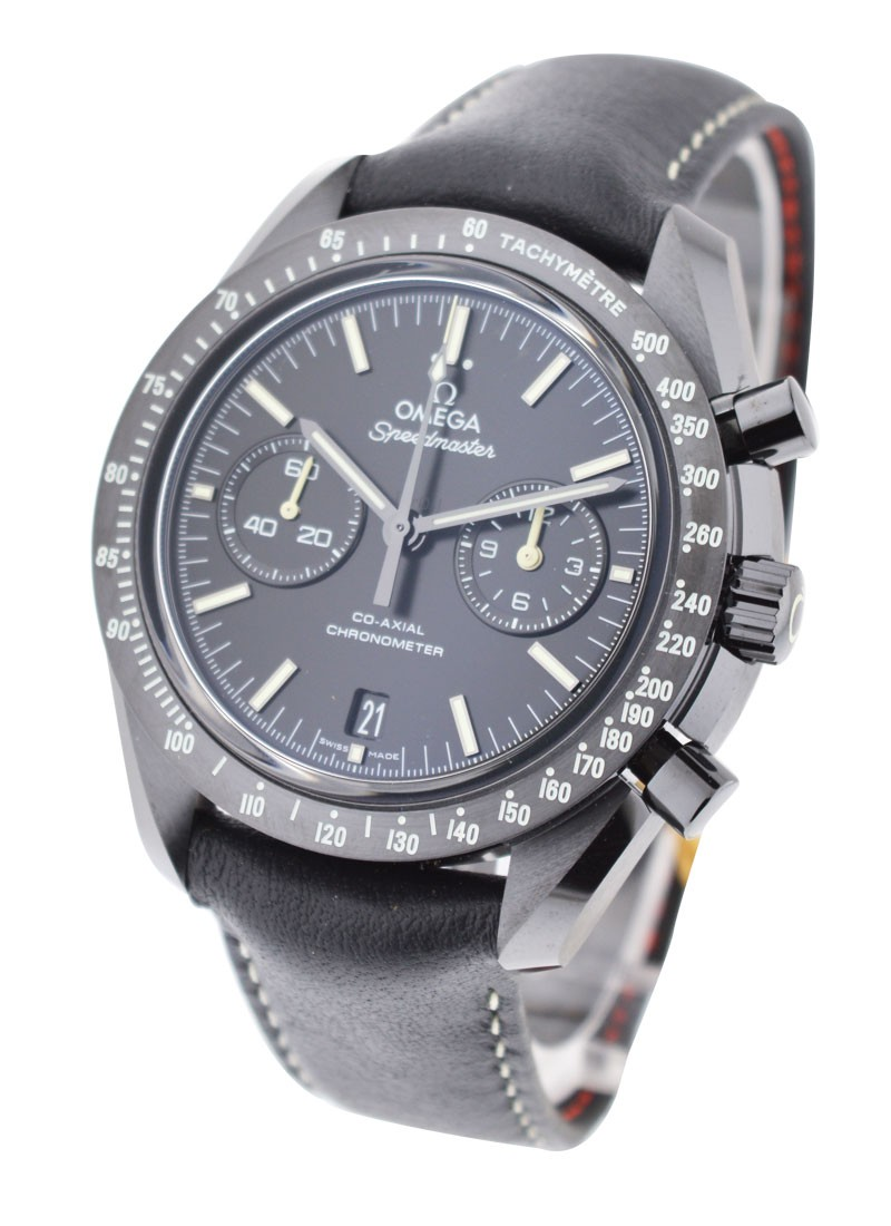 Omega Speedmaster Moonwatch Co - Axial Chronograph in Black Ceramic