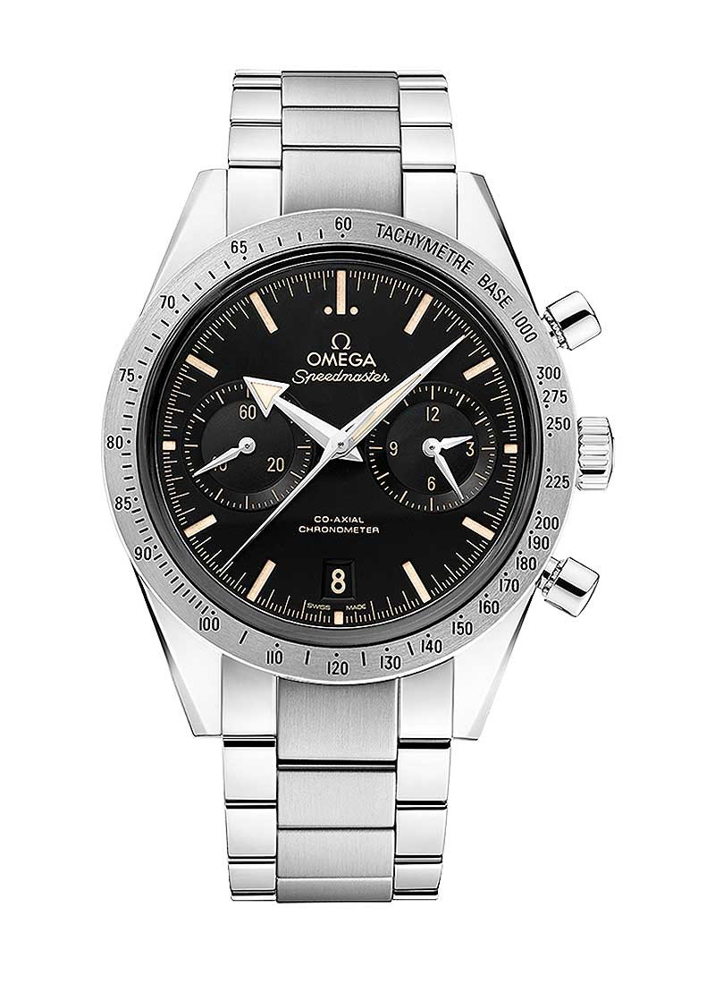 Omega Speedmaster 57 Co-Axial Chronograph in Steel