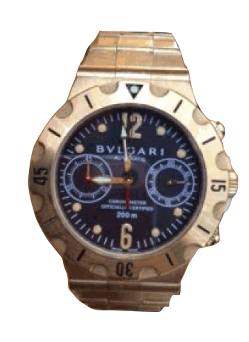 Bvlgari Diagono Proffesional GMT 3 Time Zone