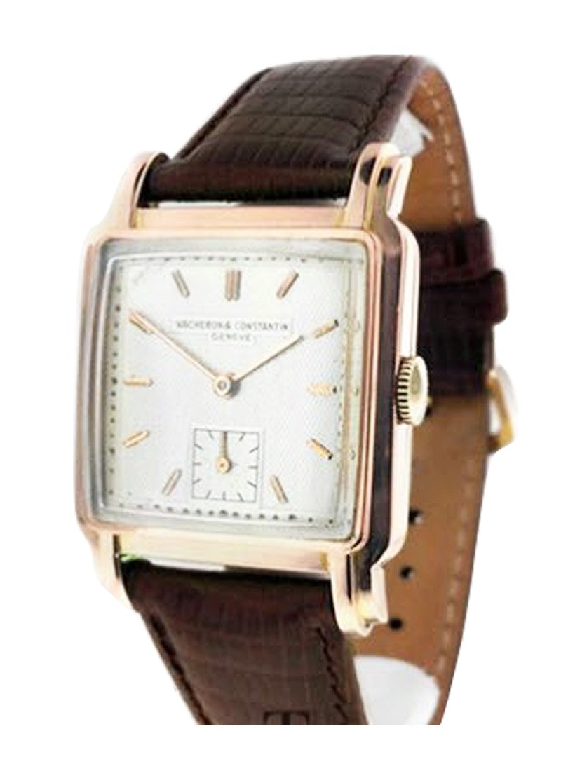 Vacheron Constantin Vintage Square in Rose Gold