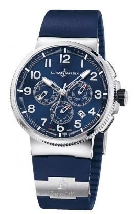 Ulysse Nardin Marine Chronograph 43mm in Steel