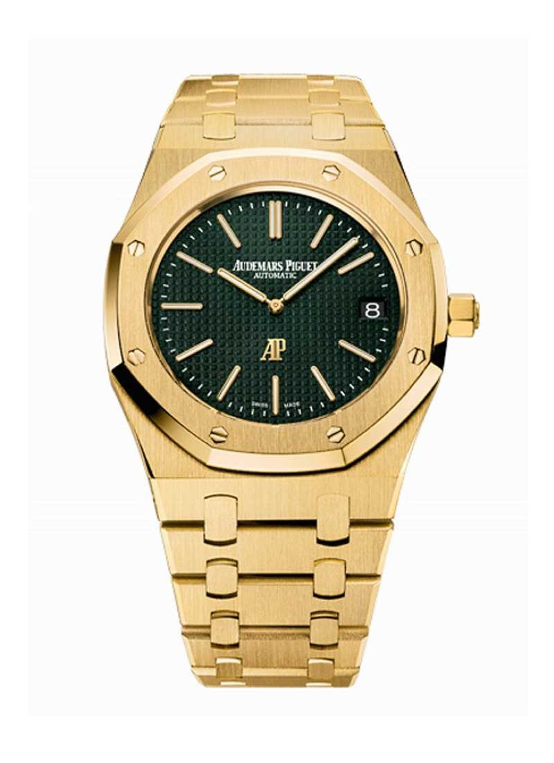 Audemars Piguet Royal Oak Extra Thin 39mm Singapore Boutique in Yellow Gold