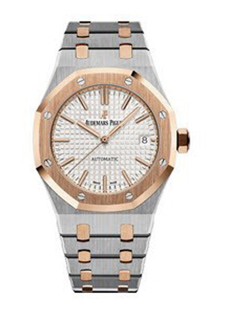 Audemars Piguet Royal Oak in Steel and Rose Gold Bezel