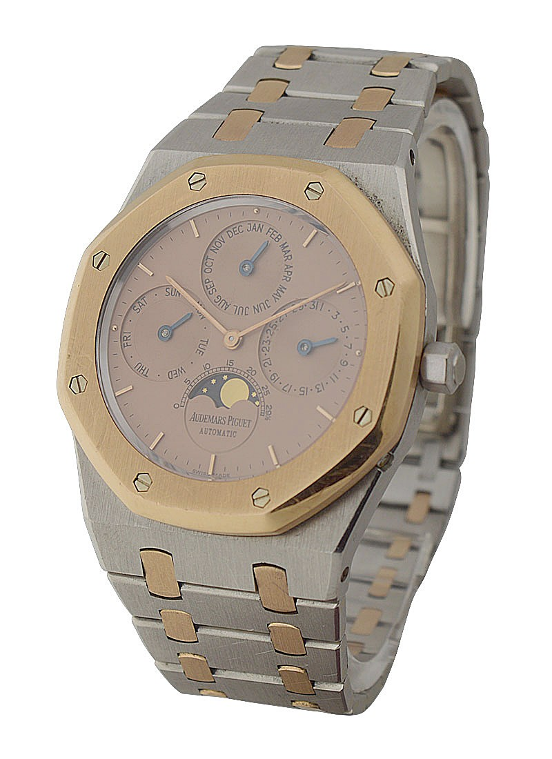 Audemars Piguet Royal Oak  Perpetual Calendar    Platinum and Rose Gold