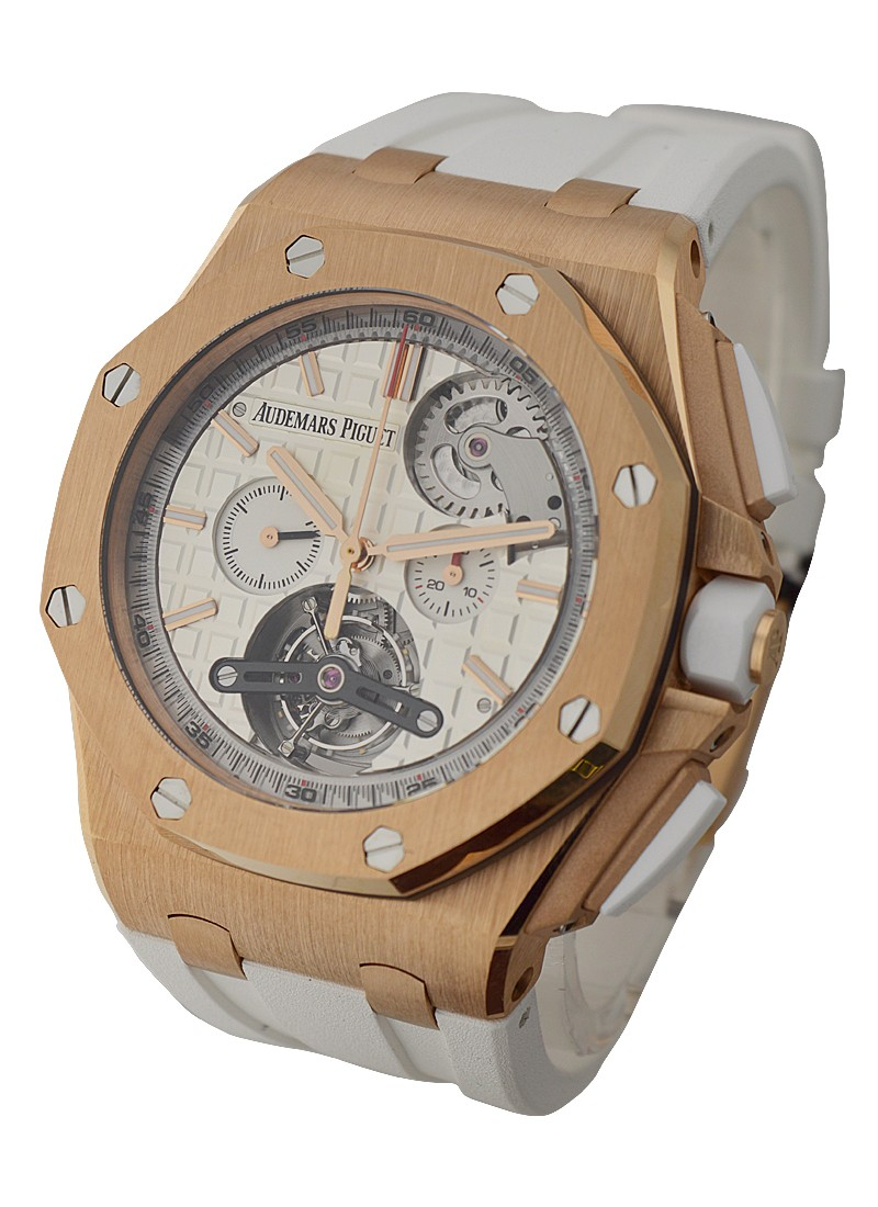 Audemars Piguet Royal Oak Offshore Tourbillon in Rose Gold