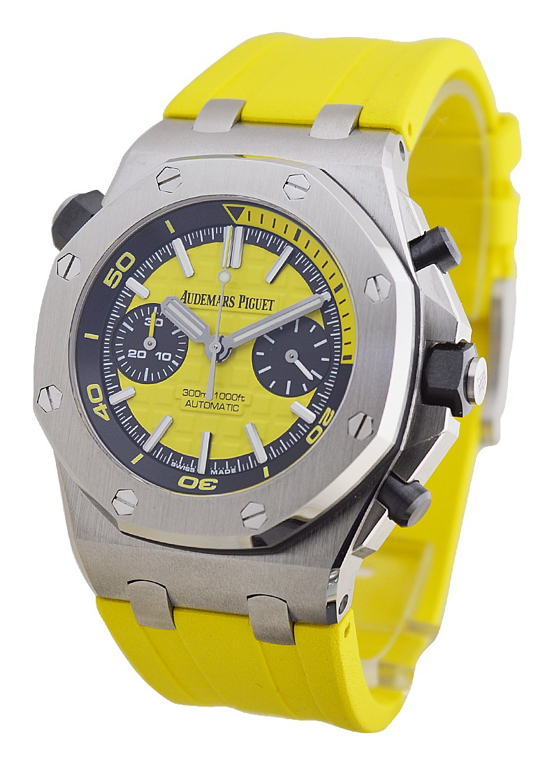Audemars Piguet Royal Oak Offshore Diver Chronograph   Yellow