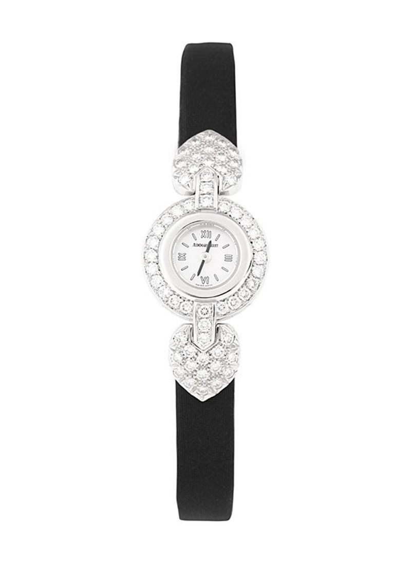 Audemars Piguet Classic Lady Diamonds  in White Gold with Diamonds