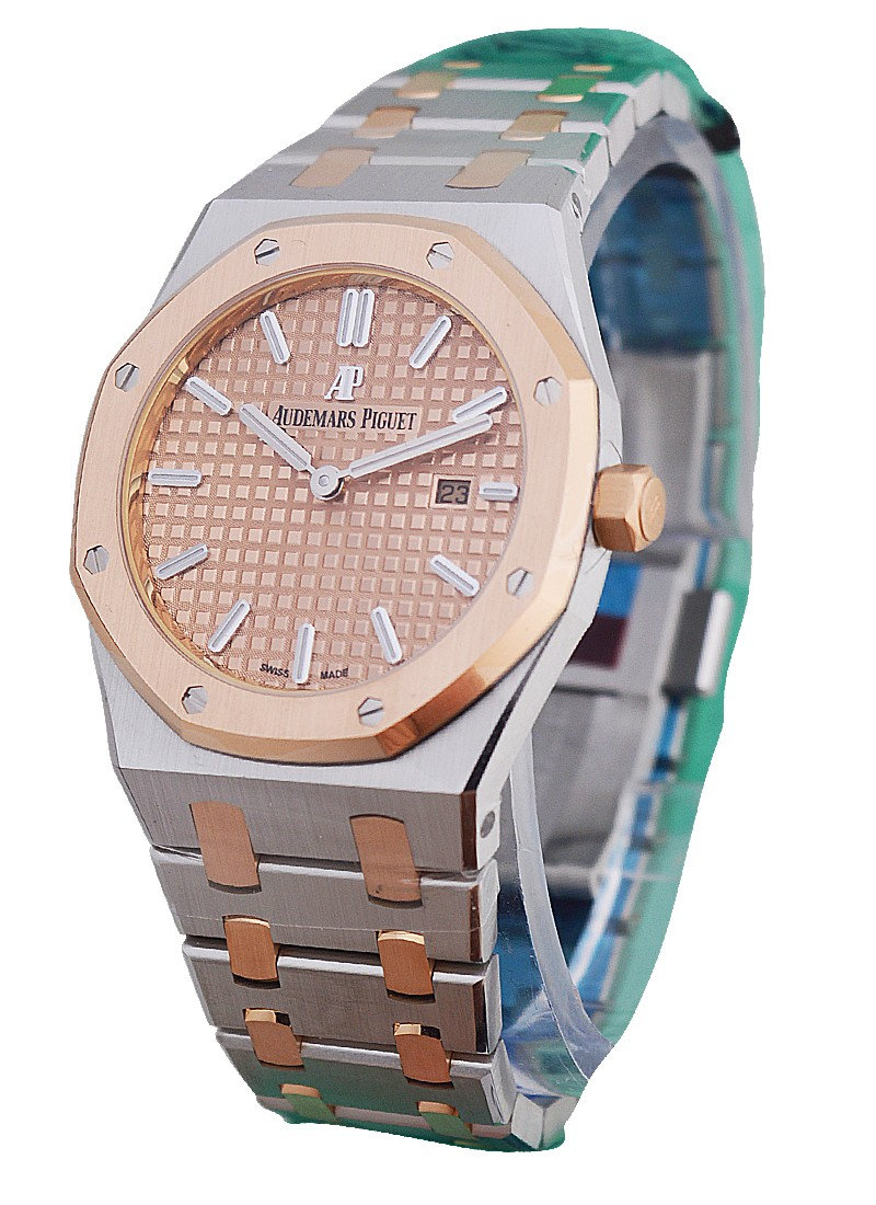 Audemars Piguet Royal Oak ladies 33mm in Steel and Rose Gold