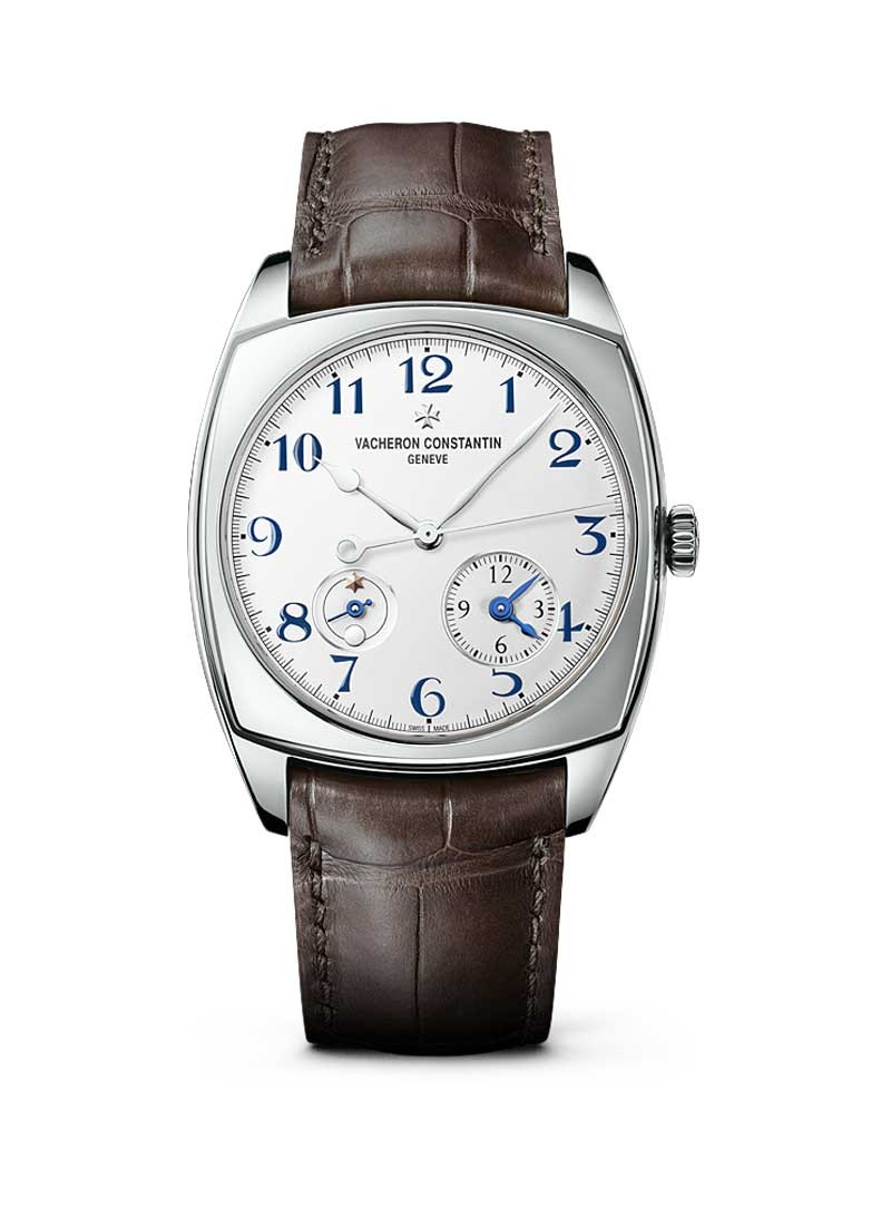 Vacheron Constantin Harmony Dual Time 40mm in White Gold