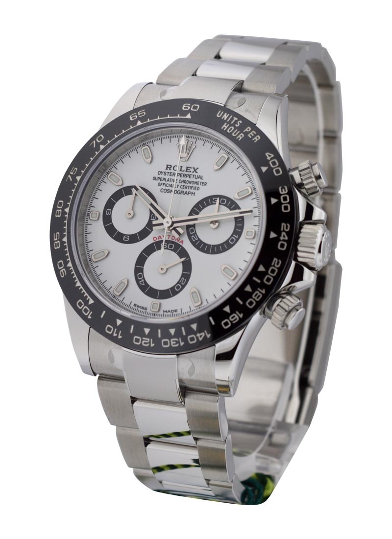 Rolex Unworn Daytona Cosmograph in Steel with Black Bezel