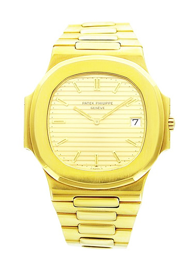 Patek Philippe Jumbo Nautilus 4700J in Yellow Gold