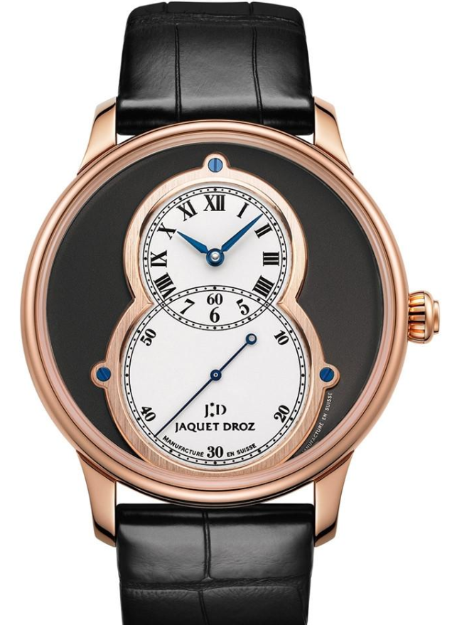 Jaquet Droz Hommage Geneve Grande Date 43mm in Rose Gold