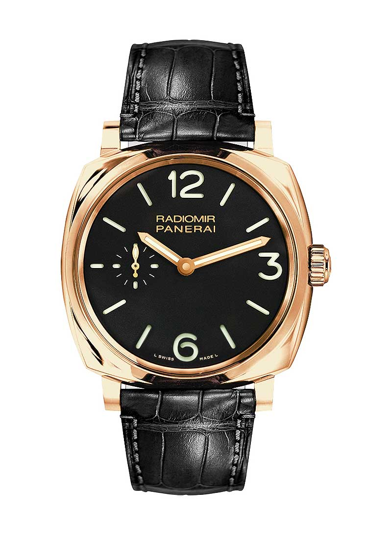 Panerai PAM 575 - Radiomir 1940  GMT Mens 45mm Automatic in Rose Gold