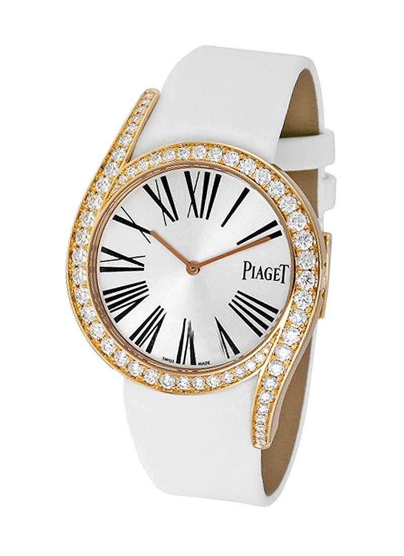Piaget Limelight Gala in Rose Gold with Diamond Bezel