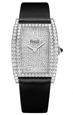 Piaget Limelight Tinneau in White Gold with Diamond Bezel