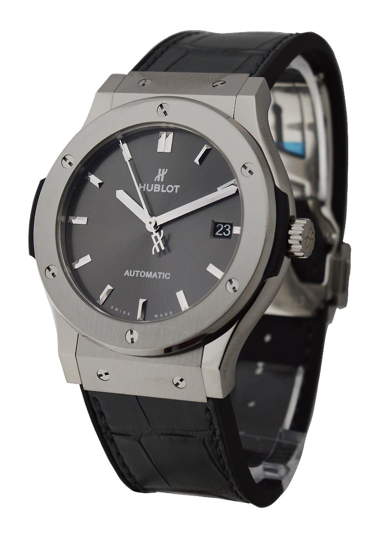 Hublot Classic Fusion Racing Grey 45mm in Titanium