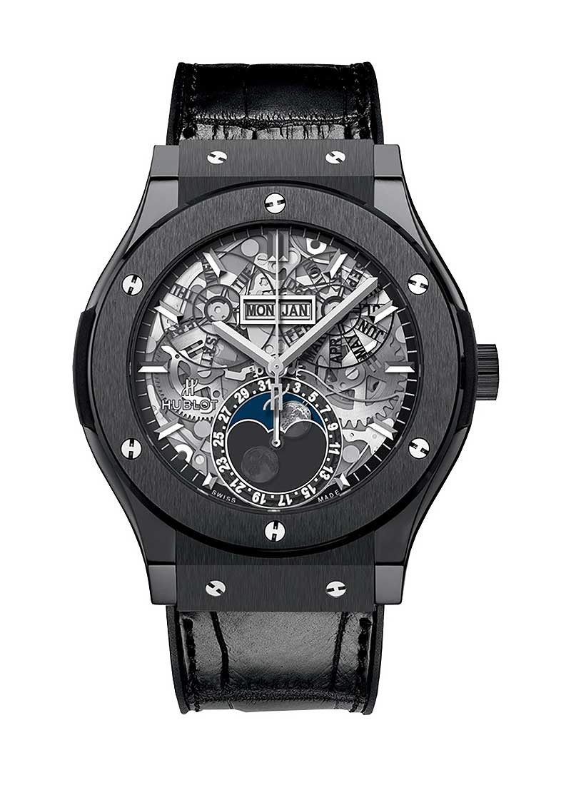 Hublot Classic Fusion Aerofusion in Black Ceramic