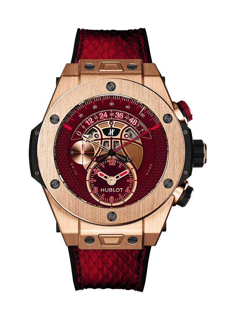 Hublot Big Bang Vino Kobe Bryant Rose Gold Limited Edition