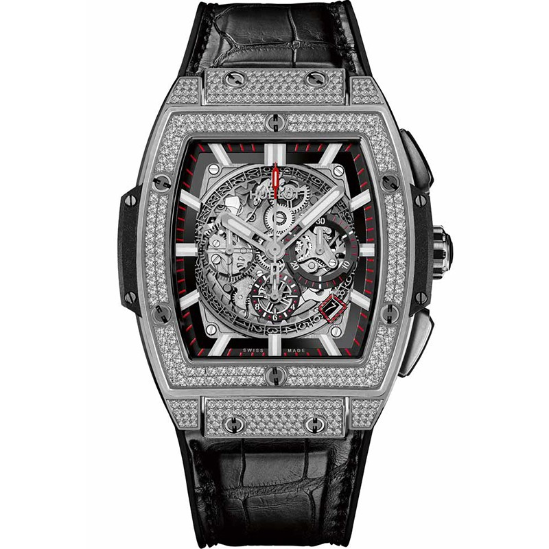 Hublot Spirit of Big Bang Mens Automatic in Satin Finished Titanium