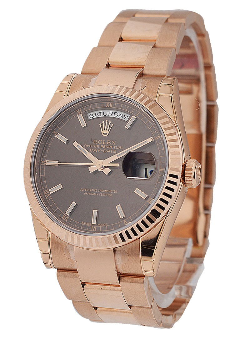 Rolex Used Rose Gold 36mm President