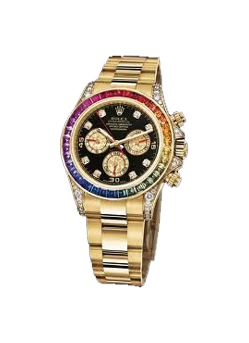 Rolex Used Yellow Gold Daytona Rainbow   Limited to 250 Pieces