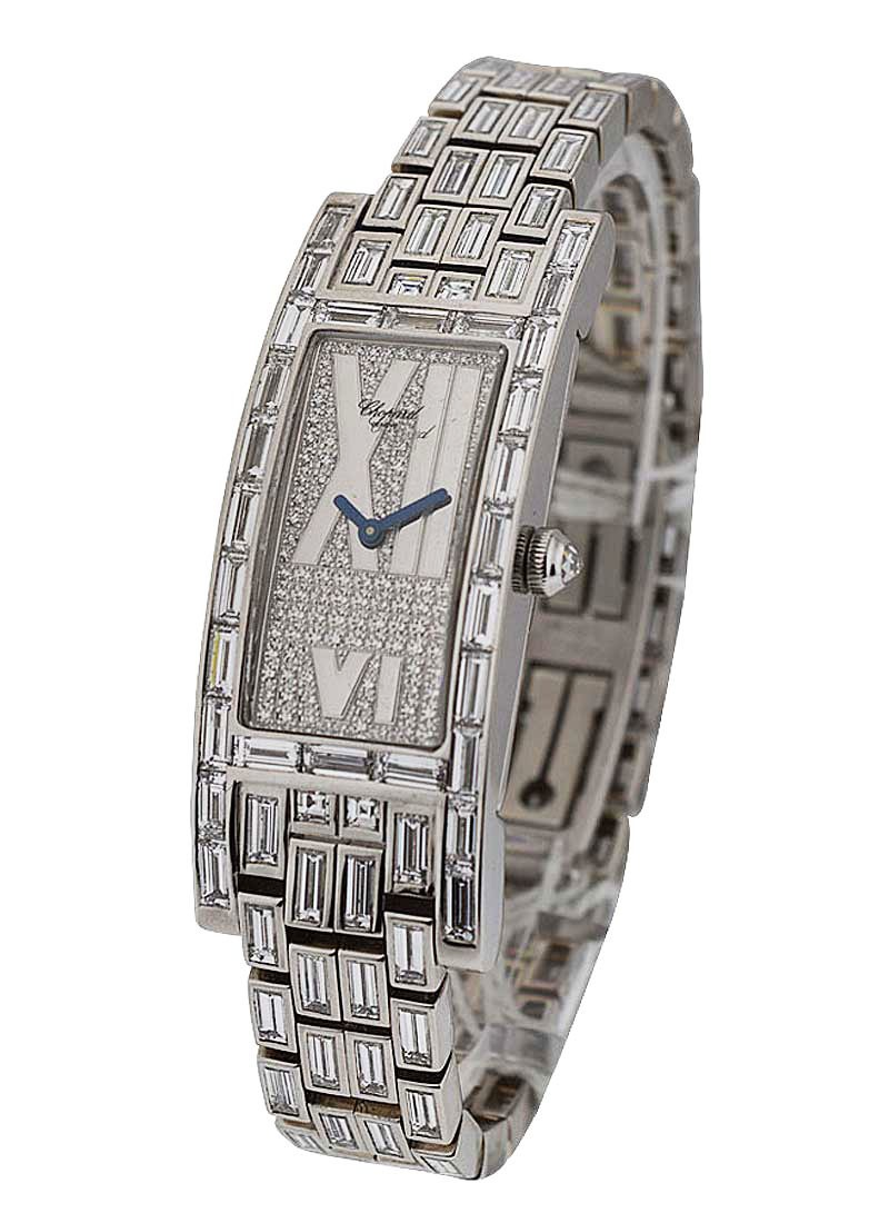 Chopard Ladies Classique with Full Pave Diamonds