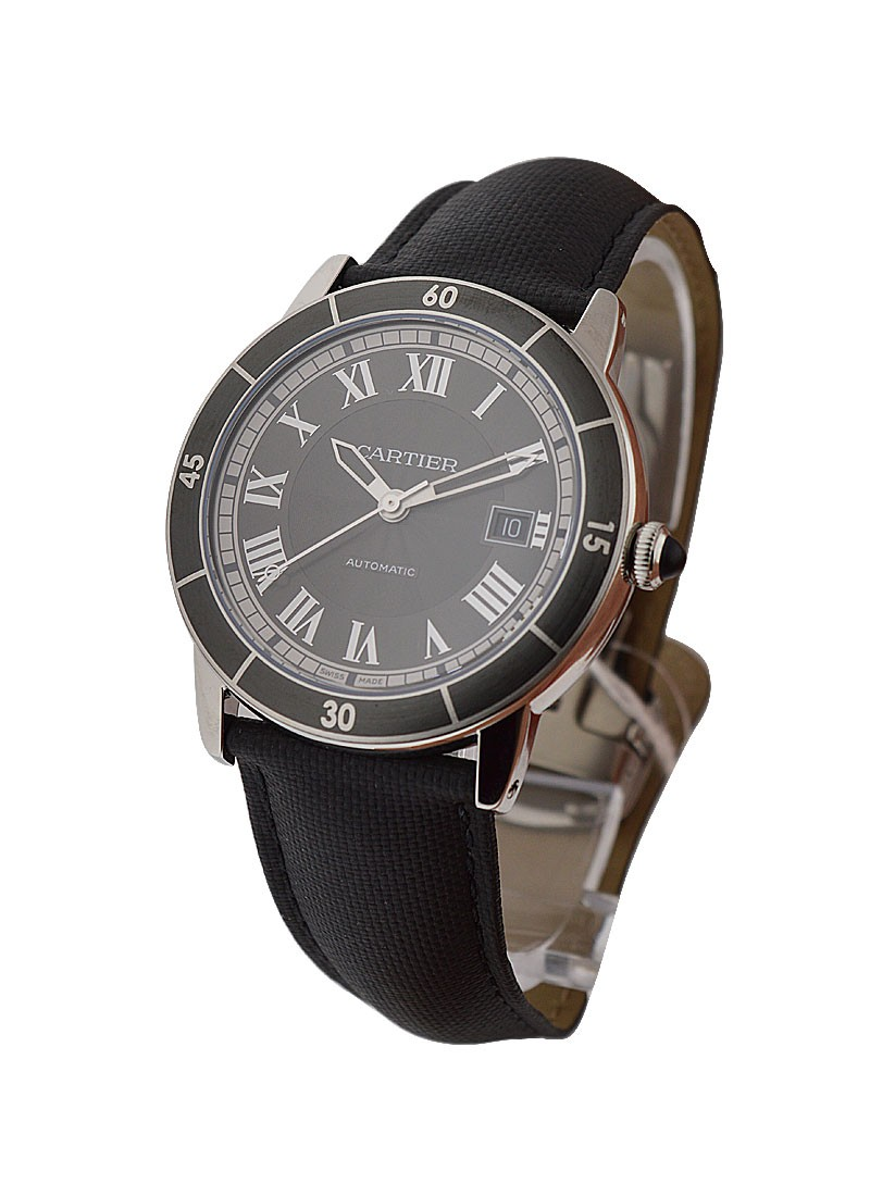 Cartier Ronde Croisiere Automatic in Steel