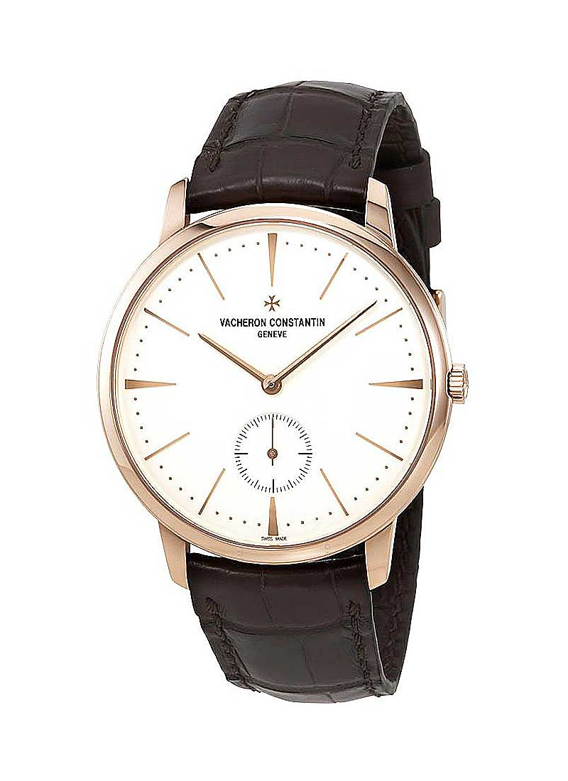 Vacheron Constantin Patrimony Mens 42mm Manual in Rose Gold