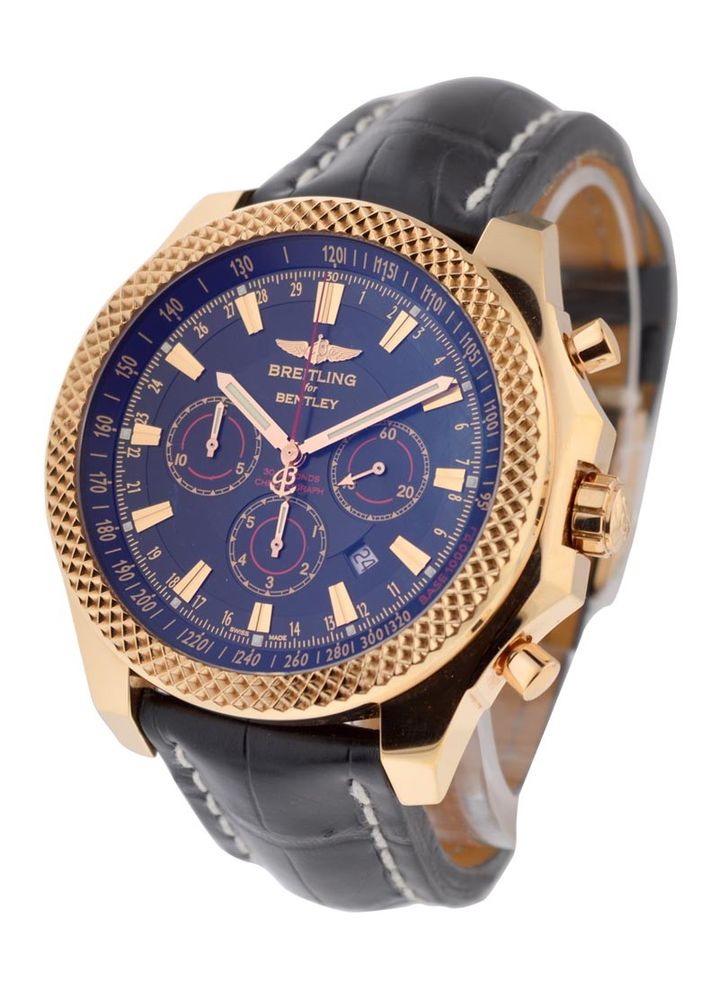 Breitling Bentley Barnato Chronograph Automatic Men's in Rose Gold
