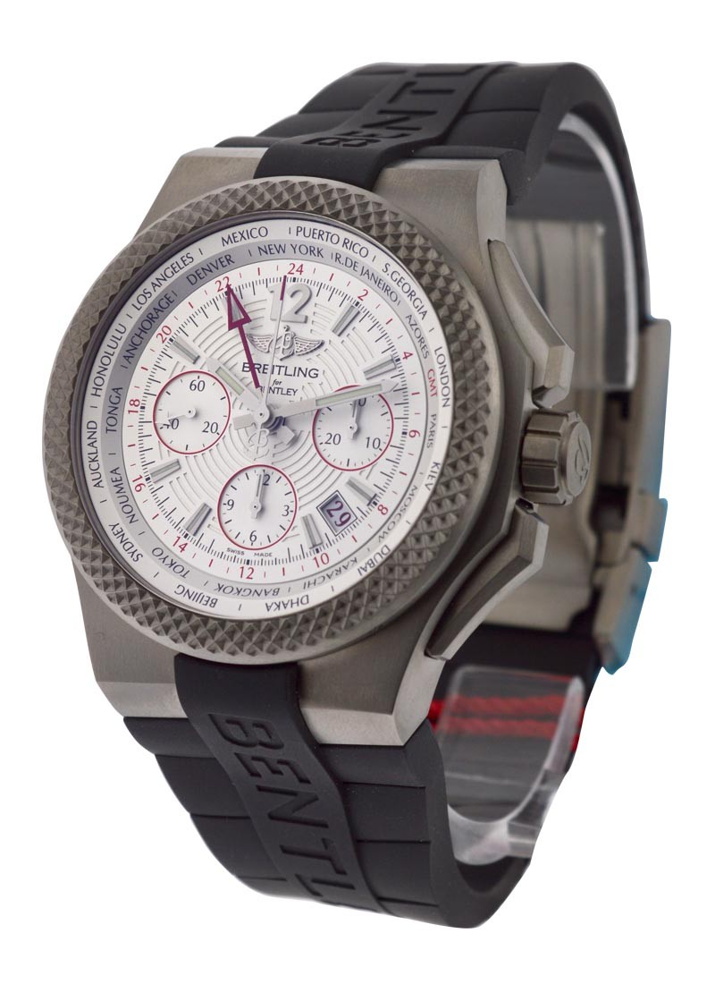 Breitling Bentley GMT Light Body B04S - Chronograph in Titanium