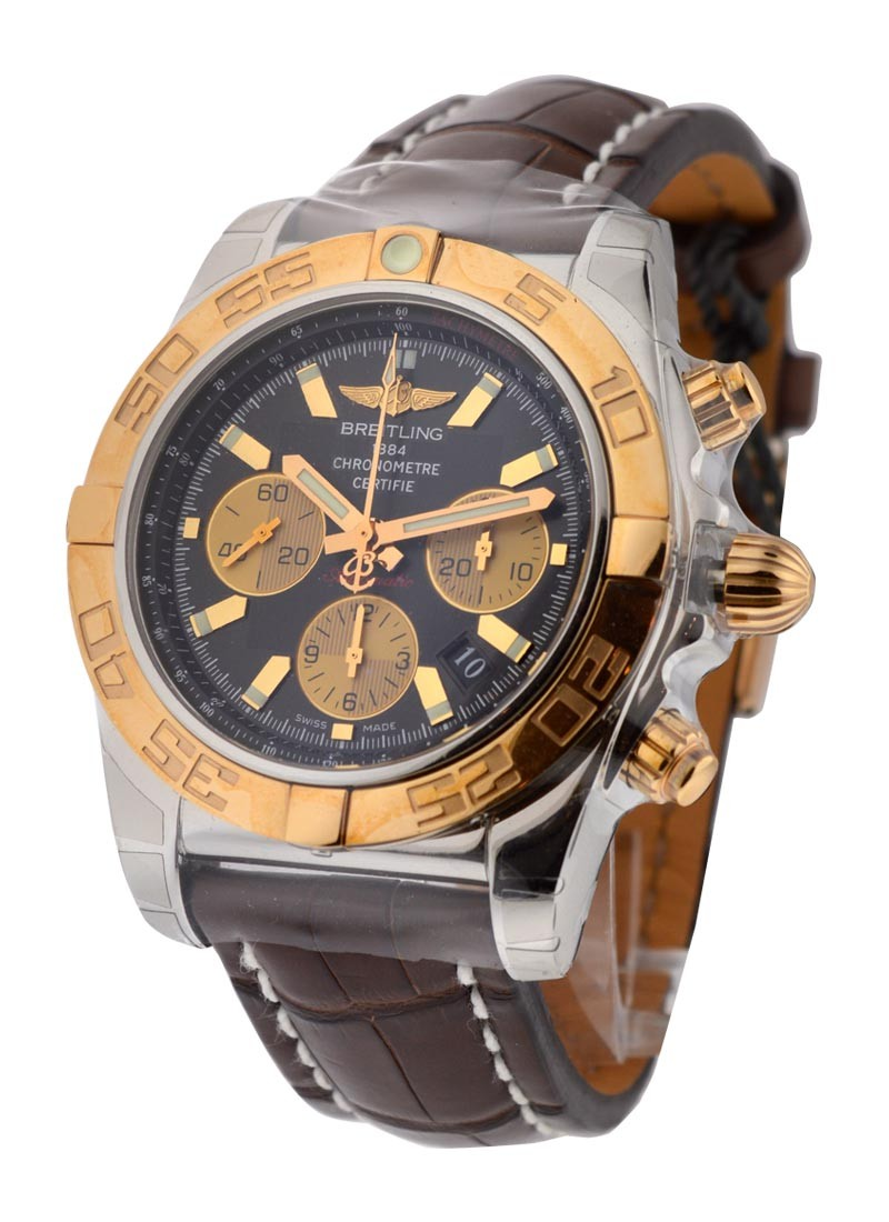 Breitling Chronomat B01 Men's Automatic Chronograph in 2-Tone