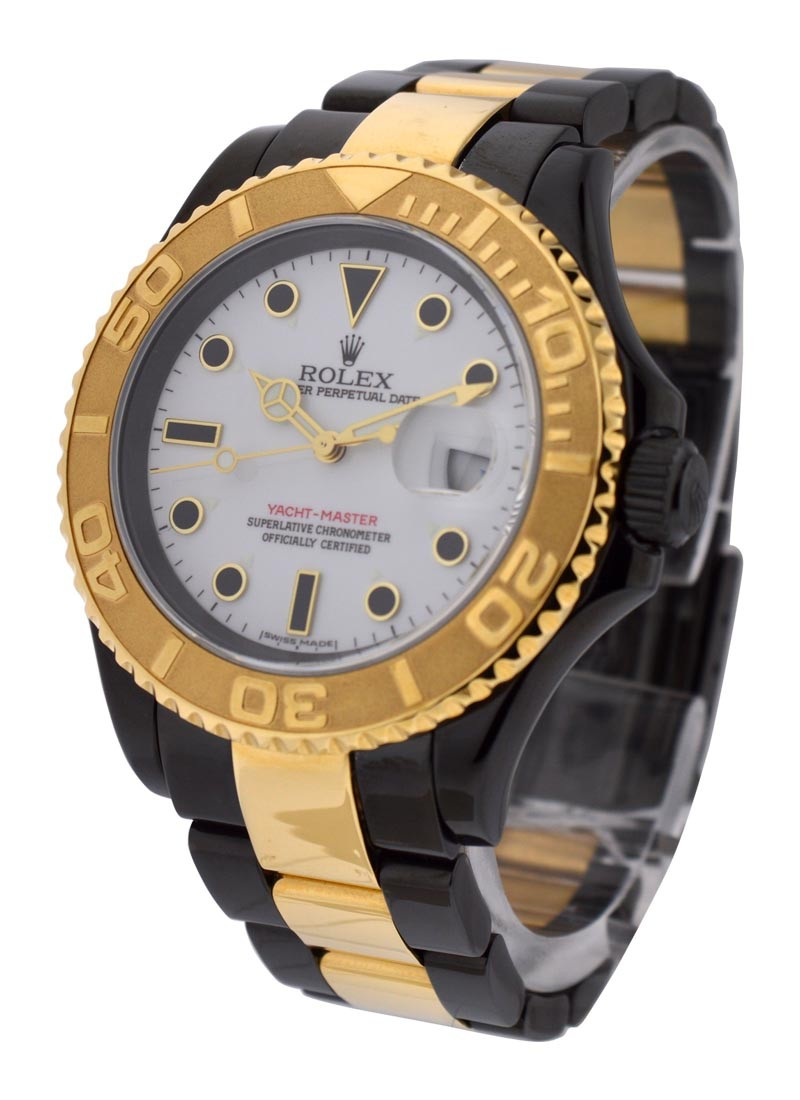 Rolex Used Yacht Master DLC and Yellow Gold Ref 16623