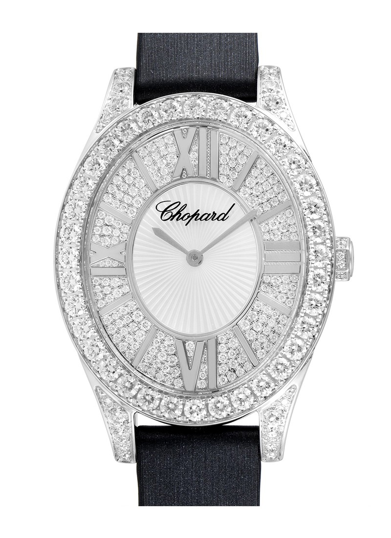 Chopard Heure Du Diamant in White Gold with Diamond Case