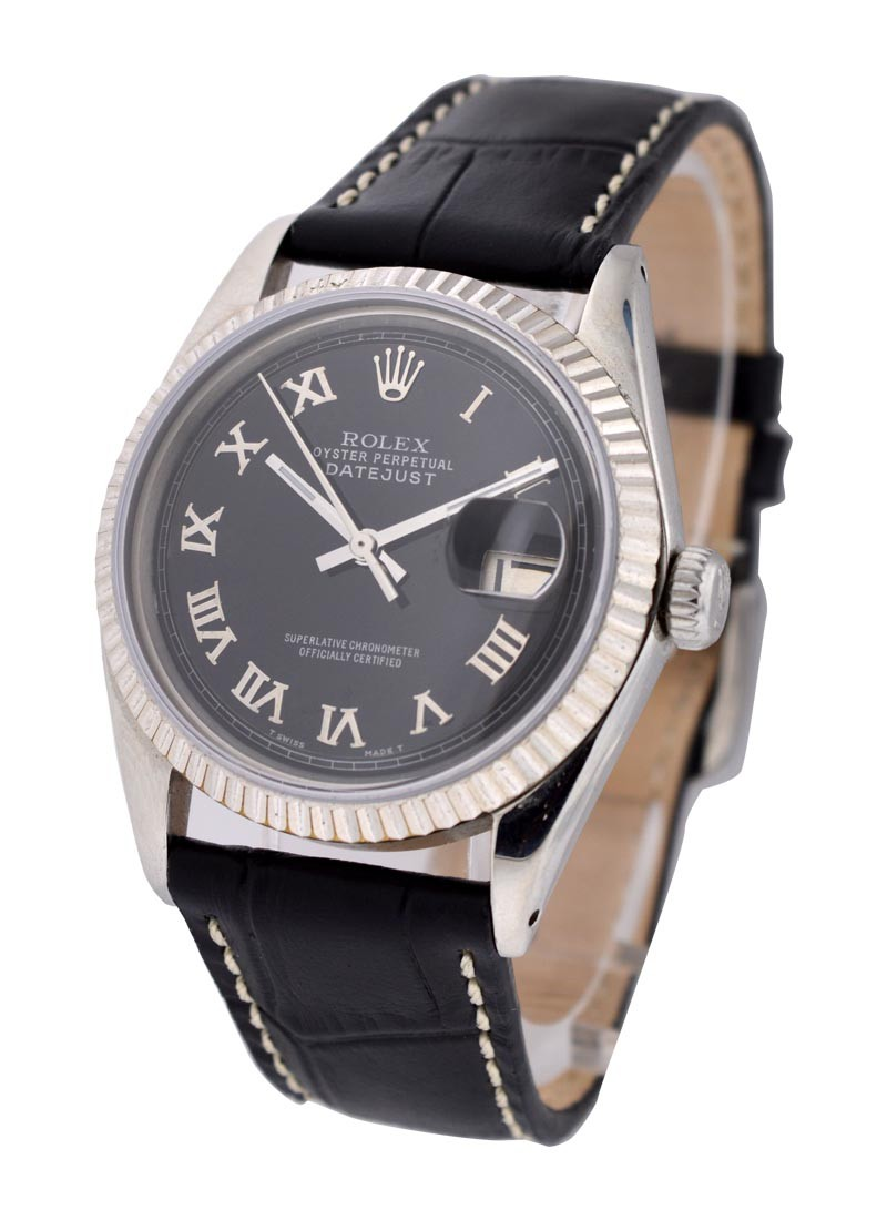 Rolex Used 36mm Datejust on Strap