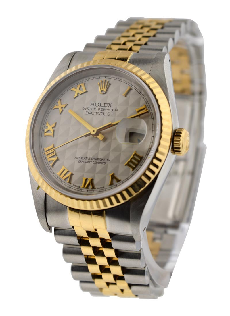 Rolex Used 36mm 2 Tone Datejust  Ref 16233