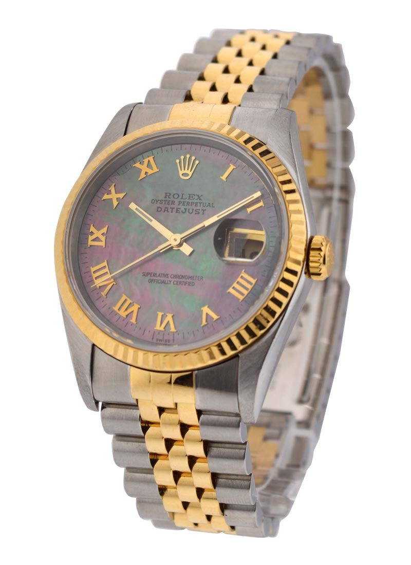 Pre-Owned Rolex 2-Tone Datejust 36mm