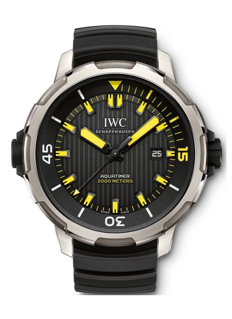 IWC Aquatimer Automatic 2000 in Titanium