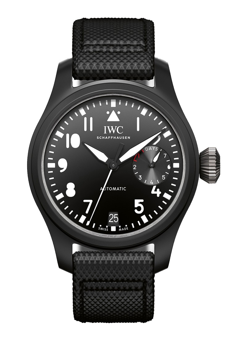 IWC Big Pilot Top Gun in Black Ceramic