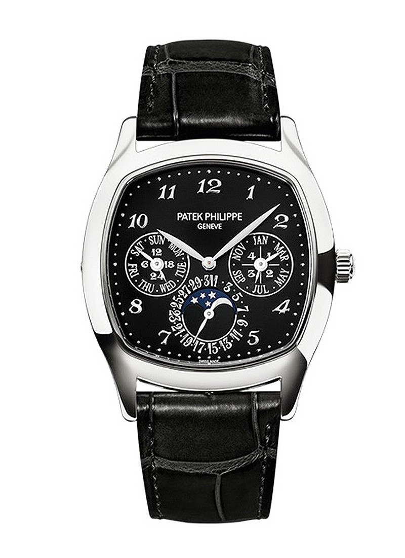 Patek Philippe Grand Complication Ref 5940G-010 Perpetual Calendar in White Gold