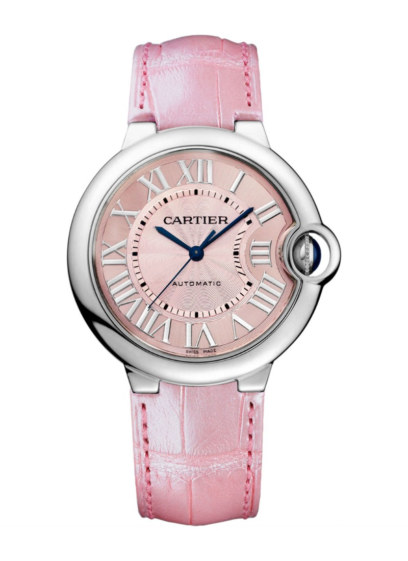 Cartier Ballon Bleu Automatic in Steel