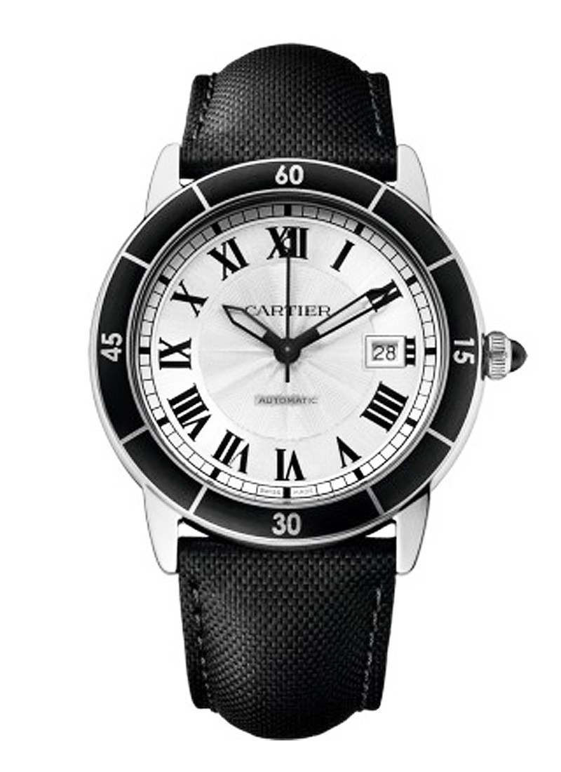 Cartier  Ronde Croisiere De Cartier Automatic in Steel