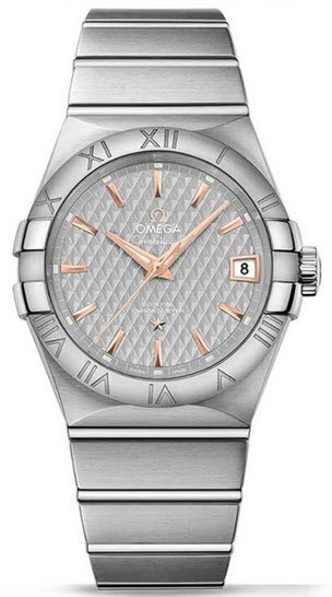 Omega Constellation Mens Automatic in Steel