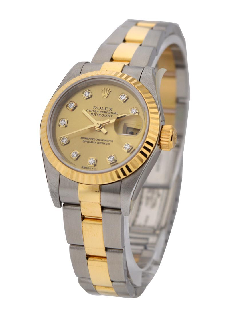 Rolex Used 2 Tone 26mm Datejust with Oyster Bracelet