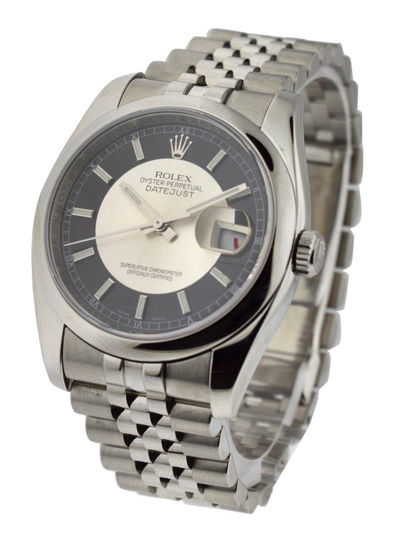 Rolex Used 36mm Datejust Ref 116200 with Jubilee Bracelet