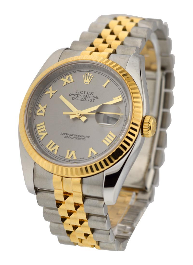 Pre-Owned Rolex 2-Tone Datejust 36mm Men's