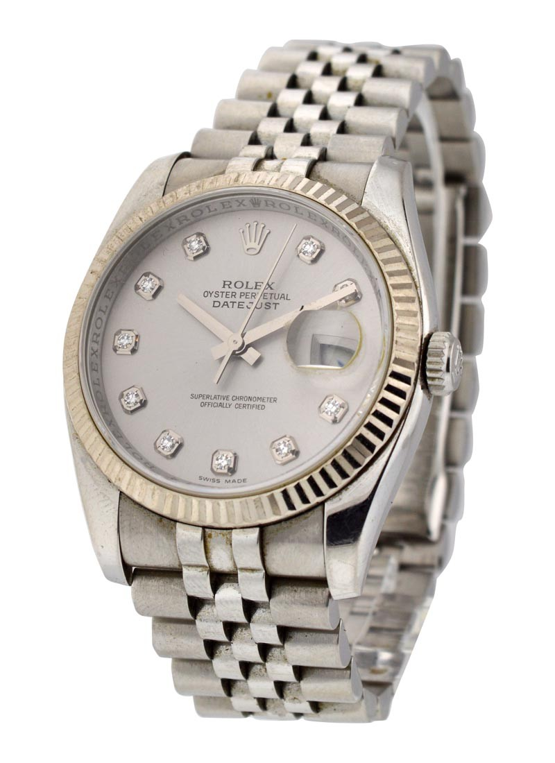 Rolex Used Mens 36mm Datejust  Ref 116234
