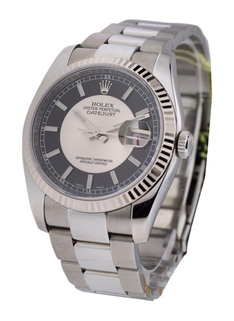 Rolex Used 36mm Datejust Ref 116234 with Oyster Bracelet